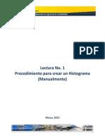 Lectura No 1 - Procedimiento Para Crear Un Histograma Manual