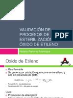 Validación de Procesos de Esterilización Con Óxido De