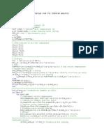 Matlab Code for turbofan analysis
