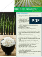 21st November,2014 Daily Global Rice E-Newsletter by Riceplus Magazine