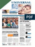 GradoCeroPress-Sábado 22 Nov-2014 Portadas Medios Nacionales
