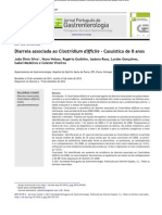Diarreia Associada Ao Clostridium Difficile - Casuística de 8 Anos