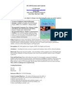 UT Dallas Syllabus for ee4310.002.08s taught by Charles Bernardin (cpb021000)