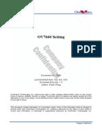 OV7660 omivision