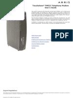 TM822 User Guide Std1-2