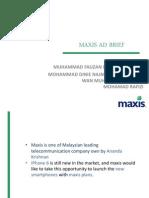 Maxis Ad Brief