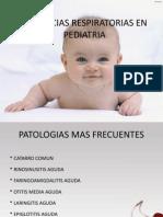 Urgencias Respiratorias en Pediatria