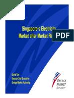 Singapore Electricity Market