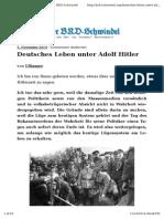 Leben in Der Hitler Zeit