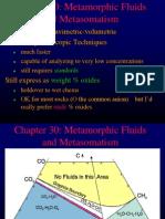 Fluids and Metasomatism