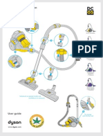 DYSON DC05 Gen Manual Uk