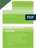CAPS AD Município de São Paulo