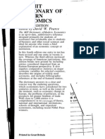 The MIT Dictionary of Modern Economics (1992)(4th Ed.)