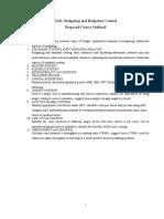 Budgeting and Budgetary Control_Summary
