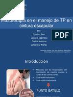 Masoterapia en El Manejo de TP en Cintura Escapular
