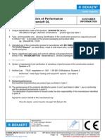 Dramix fibers data sheet