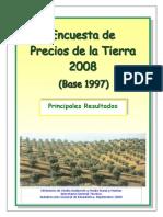 Encuesta Precios Tierra 2008