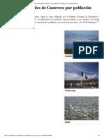 Anexo_Localidades de Guerrero Por Población - Wikipedia, La Enciclopedia Libre
