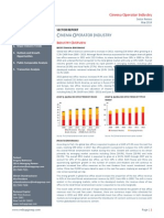 Cinema Operator Industry Report May 2014