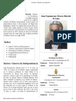 Juan Álvarez - Wikipedia, La Enciclopedia Libre