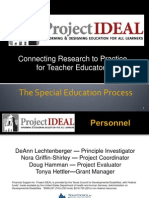 presentation the special education process