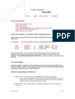 UT Dallas Syllabus for math2419.001.08s taught by Bentley Garrett (btg032000)
