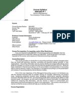UT Dallas Syllabus for aim6202.pjm.08s taught by Surya Janakiraman (suryaj)
