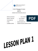 Lesson Plan Year 5