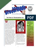 Crossroads November 2014