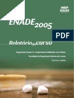 Enade 2005 Engenharia de Materiais- EEL USP