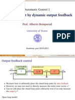 07 Output Feedback