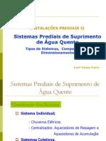 Apostila 2- Água Quente - Sistema e Componentes e Dimensionamento-final
