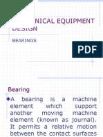 Bearings Types