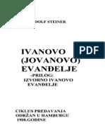Rudolf Steiner Ivanovo Evandjelje