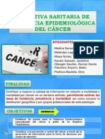 directiva sanitaria de vigilancia epidemiologica del cancer