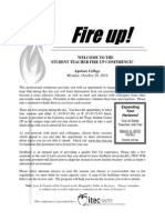 fire up conference program