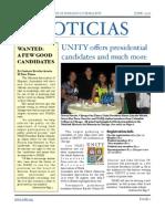 Noticias Newsletter June 2008