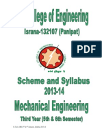 Booklet BTech_ME_ 5th & 6th Semester _2013-14