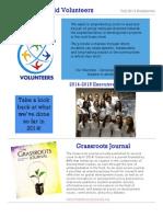 BWV Fall 2014 Newsletter