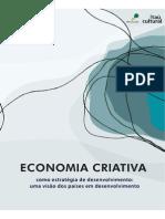 ECONOMIA CRIATIVA - Como Estratégia de Desenvolvimento