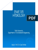 Introduction of Hydrology