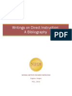 Bibliography Direct Instruction