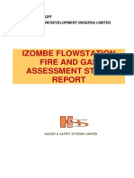 IZOMBE Fire and Gas Assessment Study Report - Final