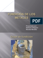 Fundición de Los Metales