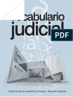 Vocabulario Judicial - Mexico