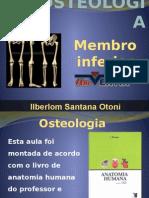Osteologia (Membro Inferior)
