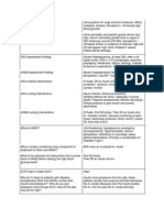 Med Surg Study Guide