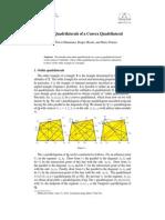 Orthic Quadrilaterals of a Convex Quadrilateral