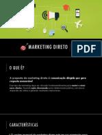 Marketing Direto - Conceitos e Ferramentas