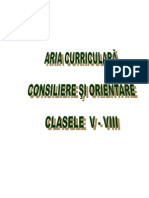 Consiliere Si Orientare_V_VIII 2014-2015(Bun)